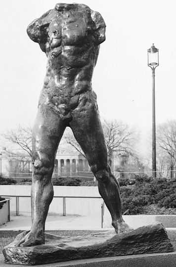 visual analysis of the walking man rodin Rodin remains one of the few sculptors widely known outside the visual such as the walking man the story of rainer maria rilke and auguste rodin, new.